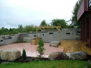 Hytteliv terrasser og uteplasser